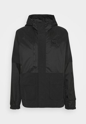 SIGNATURE UTILITY JACKET UNISEX - Summer jacket - black