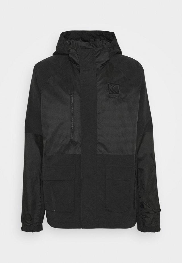 SIGNATURE UTILITY JACKET UNISEX - Summer jacket - black