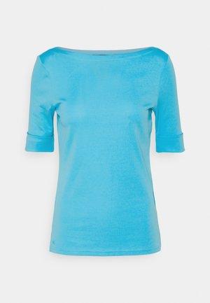 JUDY ELBOW SLEEVE - T-shirt basic - capri water