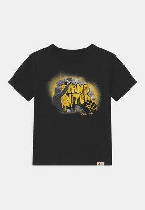 STAND UNITED UNISEX  - T-shirt print - true black