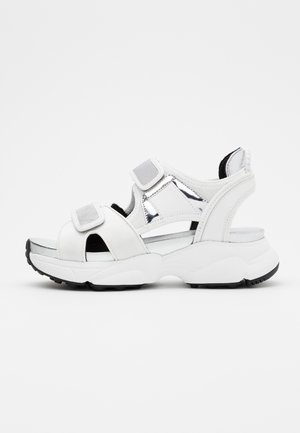 HARVEY  - Platform sandals - optic white