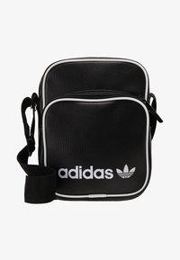 adidas Originals - MINI BAG VINT - Across body bag - black - 5