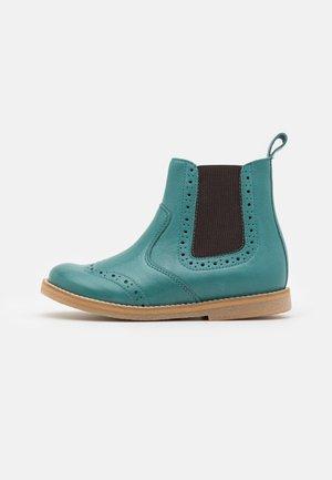 CHELYS BROGUE UNISEX - Classic ankle boots - petroleum