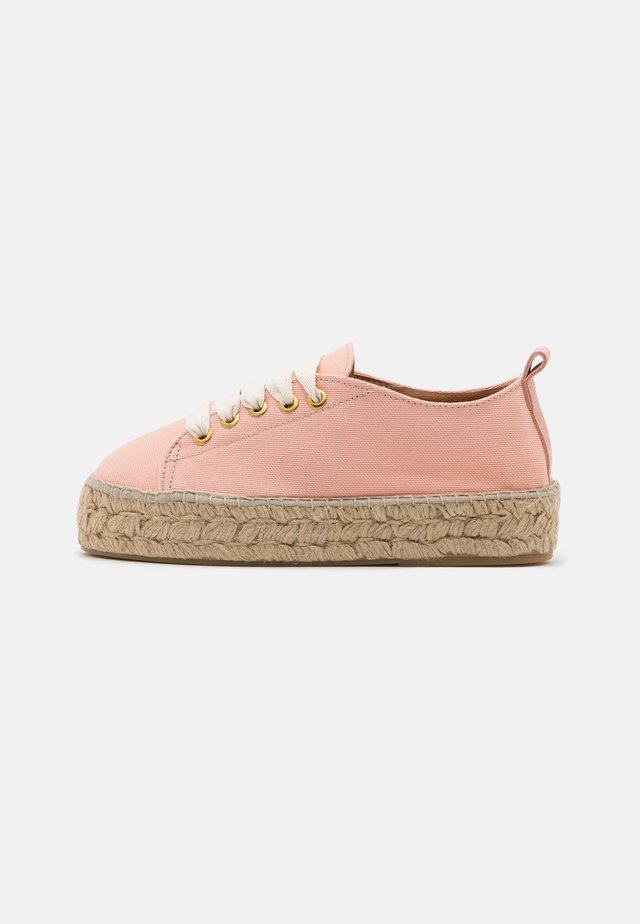 VEGAN EDITION - Espadrilles - watermelon