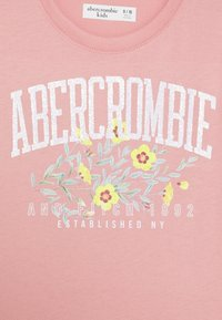 Abercrombie & Fitch - T-shirt print - pink - 2