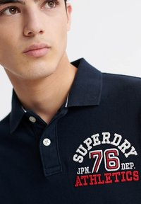Superdry - CLASSIC SUPERSTATE - Polo shirt - eclipse navy - 2