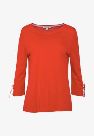 3/4 SLEEVE - Long sleeved top - red