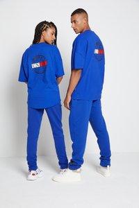 Tommy Hilfiger - LEWIS HAMILTON OVERSIZED UNITY GLOBE TEE - Print T-shirt - sapphire blue - 3