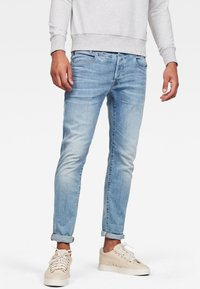 G-Star - D-STAQ 5-PKT SLIM - Jeans slim fit - blue - 0