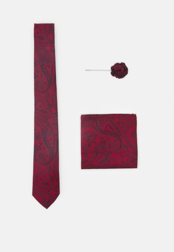 TIE HANKIE AND PIN SET