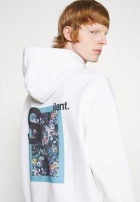 9N1M SENSE - SILENT FLOWERS HOODIE UNISEX - Sweatshirt - white - 5