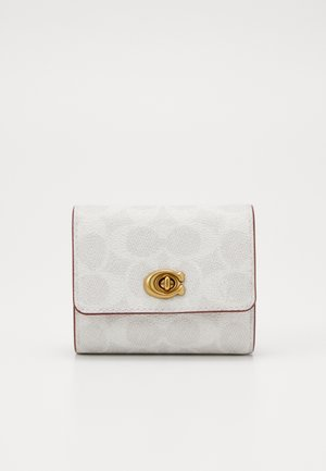 SIGNATURE BLOCKING TURNLOCK SMALL WALLET - Peněženka - chalk/confetti pink