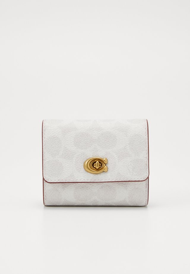 SIGNATURE BLOCKING TURNLOCK SMALL WALLET - Geldbörse - chalk/confetti pink
