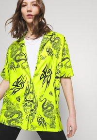 NEW girl ORDER - SKULL DRAGON - Blouse - green - 3