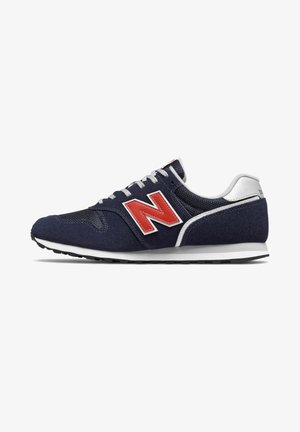 373V2 - Baskets basses - navy/red