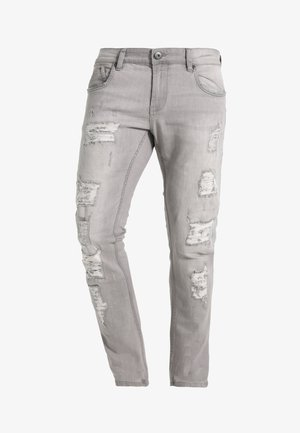 NARVIK - Slim fit jeans - light grey