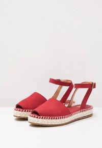 El Naturalista - MARINE - Platform sandals - tibet - 2