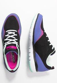 Skechers Sport - FLEX APPEAL 3.0 - Zapatillas - black/purple/pink - 3