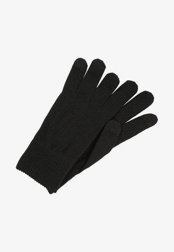 BEN  - Rękawiczki pięciopalcowe - regular black