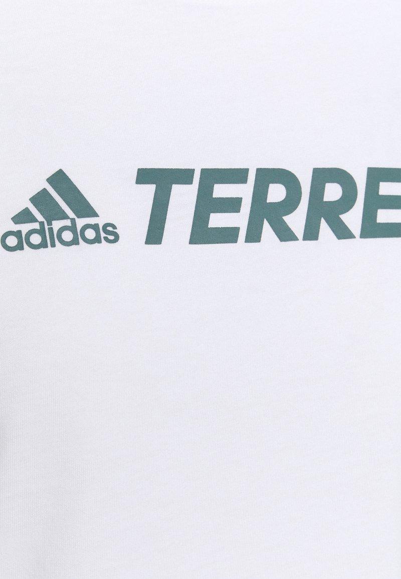 adidas Performance - TERREX CLASSIC LOGO - T-shirts med print - white