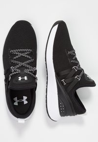 Under Armour - W BREATHE TRAINER - Sportschoenen - black/white