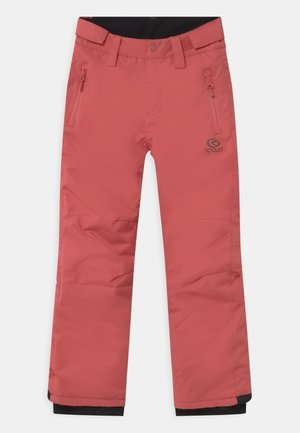 OLLY UNISEX - Snow pants - dusty cedar