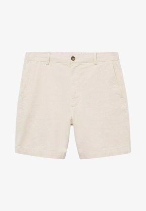 SUKRU-I - Shorts vaqueros - weiß