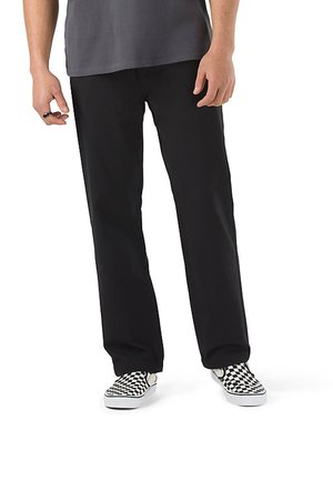 MN AUTHENTIC CHINO GLIDE RELAXTAPER PANT - Chinos - black