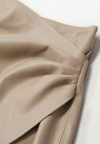 Mango - LEEREFFECT - Wrap skirt - licht/pastelgrijs - 6
