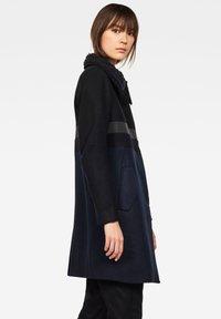 G-Star - EMPRAL SLIM CB PALETOT - Krátký kabát - black/blue - 2