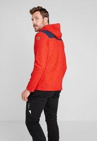 Icepeak - ATHOL - Fleece jacket - coral red - 2