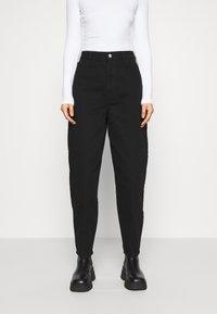 Gestuz - DEBORA - Relaxed fit jeans - black - 0