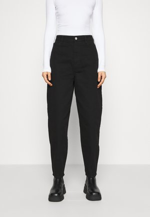 DEBORA - Relaxed fit jeans - black