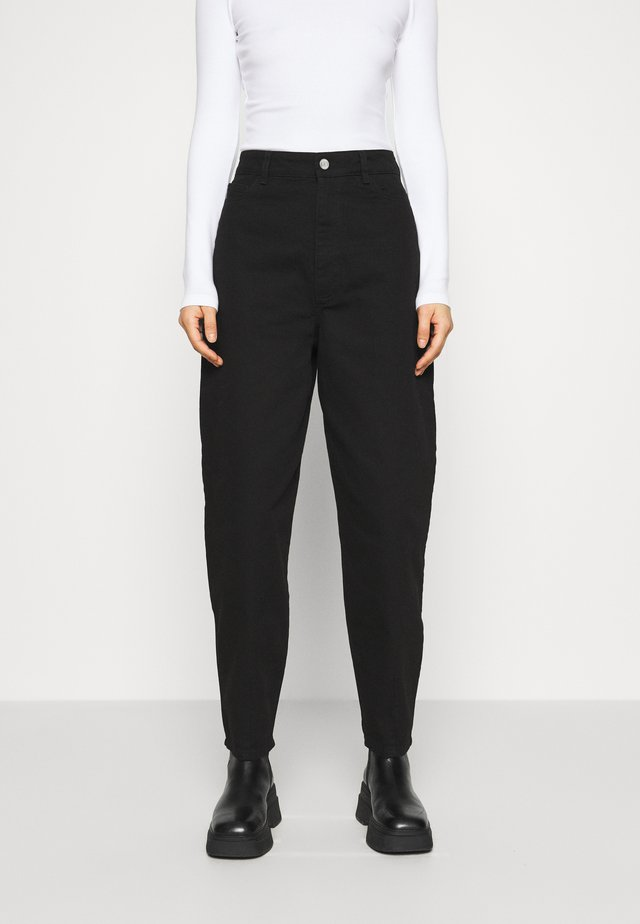 DEBORA - Jeans relaxed fit - black