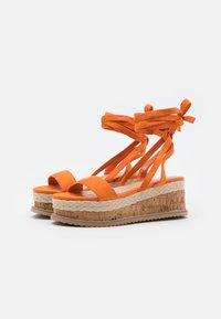 Koi Footwear - VEGAN FAN - Platform sandals - orange - 2