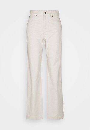 Flared Jeans - nature linen