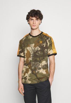 CAMO TEE - T-shirt imprimé - hemp/brooxi/eargrn/