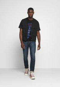 Diesel - TUBOLAR - Print T-shirt - black - 1