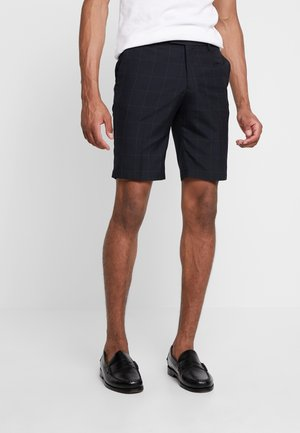NEWENT GRID CHECK - Shorts - navy