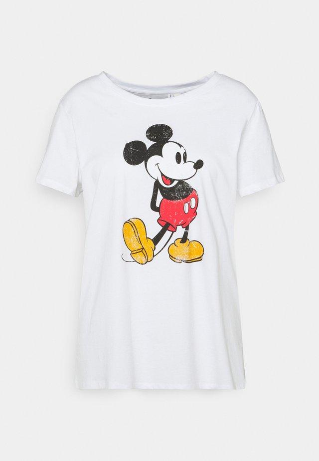CARMINNIE LIFE TEE - Camiseta estampada - white