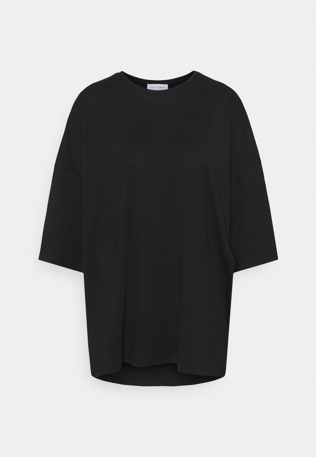 OVERSIZED CREW NECK - T-shirt basique - black