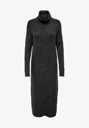 EXTRALANG - Jumper dress - dark grey melange