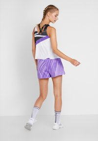 Nike Performance - TANK - Funkční triko - white/psychic purple/black/volt - 2
