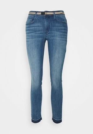 Jeans Skinny Fit - mid stone wash denim