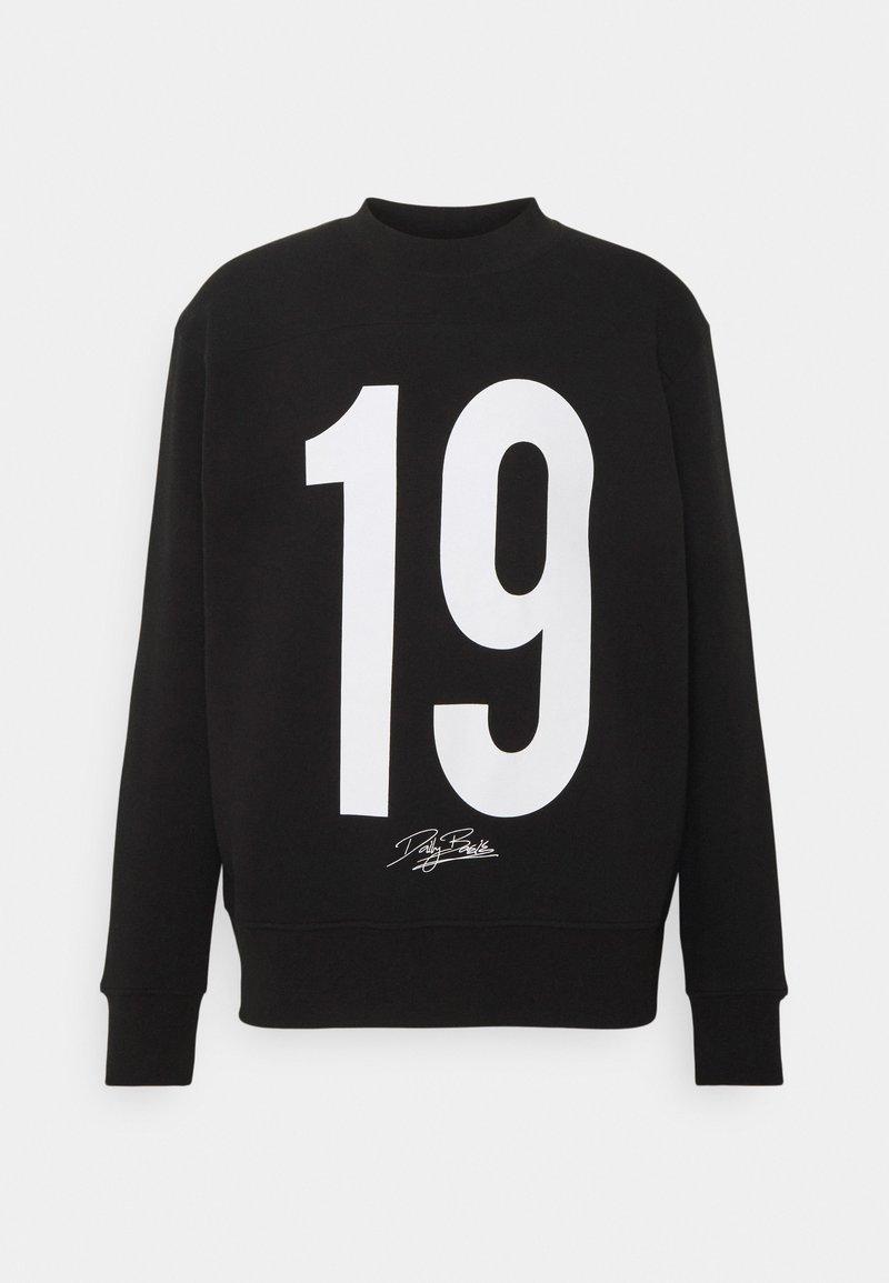 Daily Basis Studios - NUMBER CREW UNISEX - Sweatshirt - black