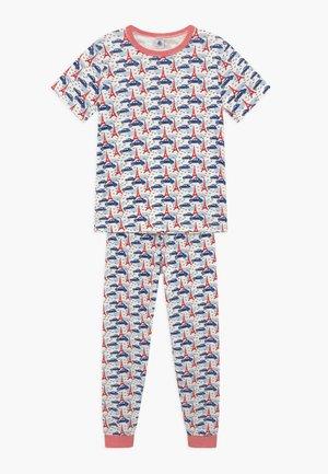 Pyjama set - white, multi-coloured