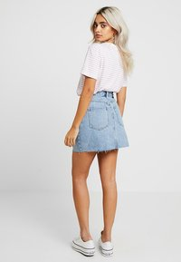 Dr.Denim Petite - MALLORY - Denim skirt - light retro - 2