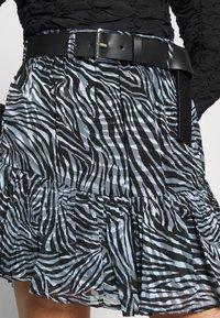 MICHAEL Michael Kors - ZEBRA MINI SKIRT - Mini skirt - light blue - 4