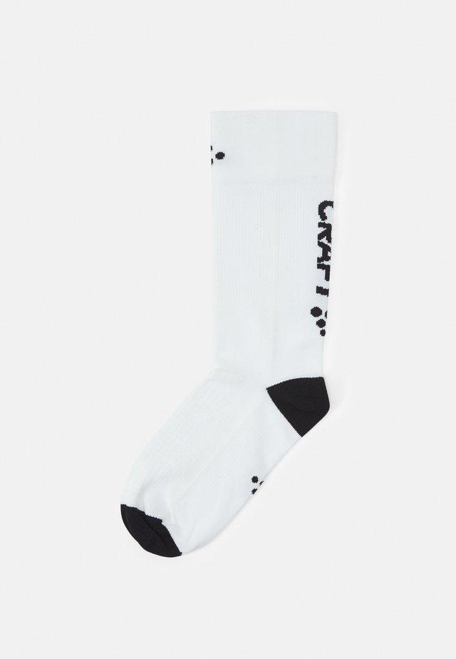 CORE ENDURE BIKE UNISEX - Calze sportive - white/black
