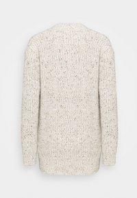 Marks & Spencer London - TWEEDY - Cardigan - beige - 1